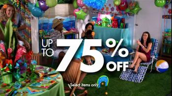Party City TV Spot For Annual Clearance Event