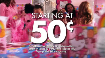 Party City TV Spot For Annual Clearance Event - Thumbnail 5