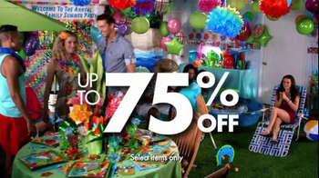 Party City TV Spot For Annual Clearance Event - Thumbnail 7