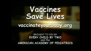 Vaccines Save Lives TV Spot Featuring Amanda Peet - Thumbnail 4
