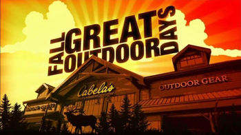 Cabela's Hunting, Fishing & Outdoor Gear TV Spot For Fall Great Outdoors Da