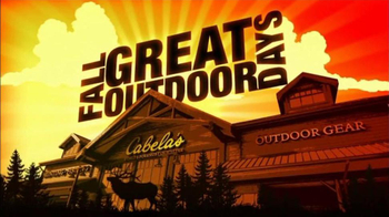 Cabela's Hunting, Fishing & Outdoor Gear TV Spot For Fall Great Outdoors Da - Thumbnail 2