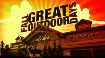 Cabela's Fall Great Outdoor Days TV Spot, 'Serious Hunting'