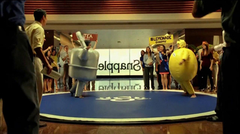 Snapple Diet Half and Half TV Spot, 'Sumo Wrestling' Feat. Aaron Takahashi - Thumbnail 6