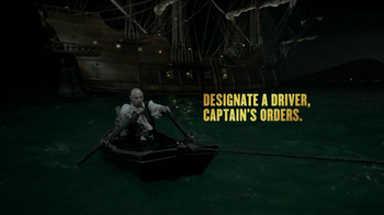 Captain Morgan Designated Driver TV Spot, Feat Iggy Pop