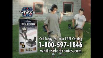 White's Electronics TV Spot For Finding History - Thumbnail 7
