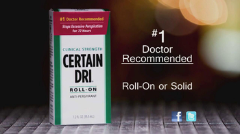Certain Dri TV Spot For Roll-On Anti-Perspirant - Thumbnail 5