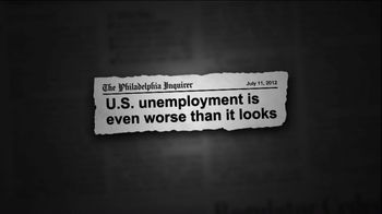Republican National Committee TV Spot For Unemployment - 4 commercial airings