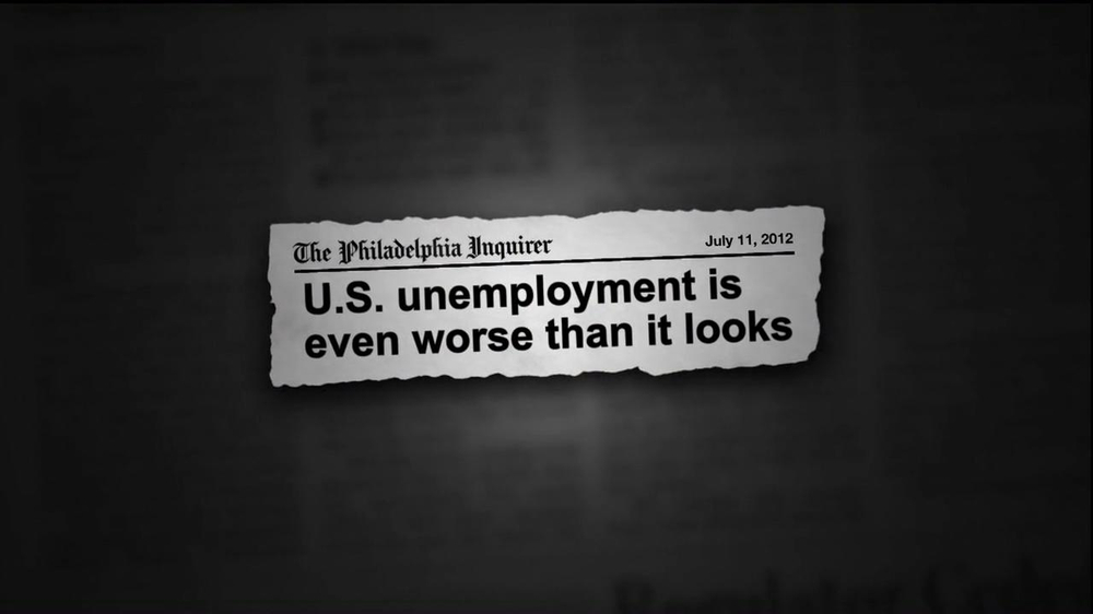 Republican National Committee TV Commercial For Unemployment