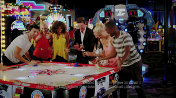 Dave and Buster's TV Spot For Play Three Free
