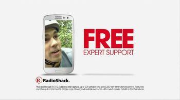 Radio Shack TV Spot For Samsung Galaxy III