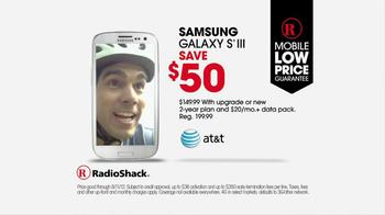 Radio Shack TV Spot For Samsung Galaxy III - Thumbnail 3