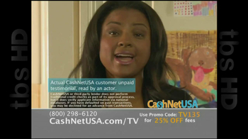 Cash Net USA TV Spot For Loans - Thumbnail 1