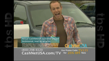 Cash Net USA TV Spot For Loans - Thumbnail 3