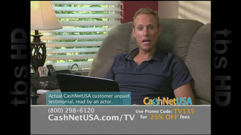 Cash Net USA TV Spot For Loans - Thumbnail 6