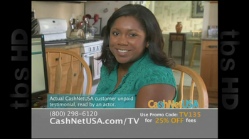 Cash Net USA TV Spot For Loans - Thumbnail 9