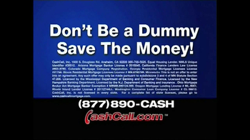 Cash Call TV Spot For 30 Year Fixed - Thumbnail 4