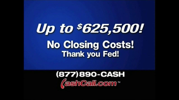 Cash Call TV Spot For 30 Year Fixed - Thumbnail 2