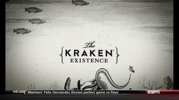 The Kraken Black Spiced Rum TV Spot Existence - Thumbnail 3
