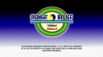 Senokot TV Spot For Overnight Relief Sweepstakes - Thumbnail 10
