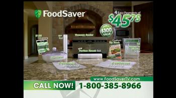 FoodSaver TV Spot