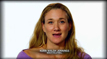Procter & Gamble TV Spot Thank You, Mom Featuring Kerri Walsh Jennings - 1 commercial airings