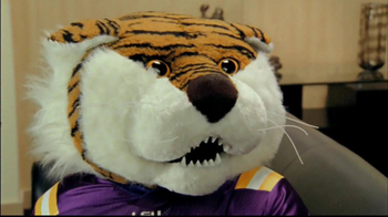 NCAA Football 13 TV Spot, 'Tiger' Featuring Les Miles - 2 commercial airings