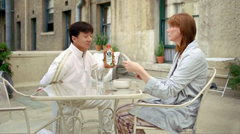 V8 Vegetable Juice TV Spot, 'Balcony' Featuring Jackie Chan - Thumbnail 4