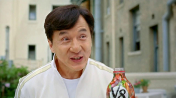 V8 Vegetable Juice TV Spot, 'Balcony' Featuring Jackie Chan