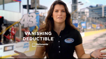 Nationwide Insurance TV Spot Featuring Danica Patrick - 32 commercial airings