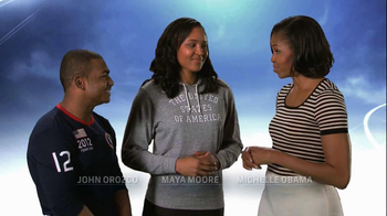 Let's Move TV Spot Featuring Olympic Athletes - Thumbnail 2