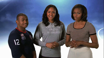 Let's Move TV Spot Featuring Olympic Athletes - Thumbnail 8