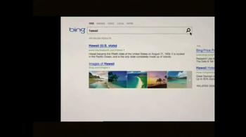 Microsoft TV Spot For Bing - Thumbnail 2