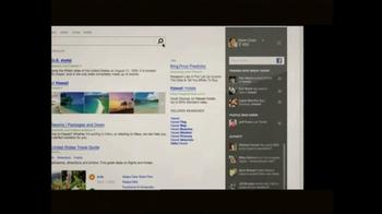Microsoft TV Spot For Bing - Thumbnail 3