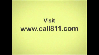 811 TV Spot For Call Before You Dig