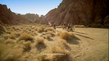 Michelob Ultra TV Spot, 'Bike Ride' Featuring Song: Young the Giant - Thumbnail 2