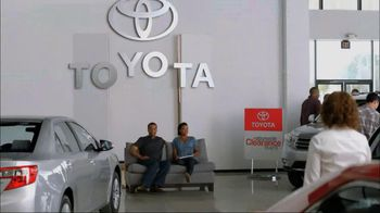 Toyota Nationwide Clearance Event TV Spot, 'Just Get It'