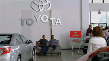 Toyota Nationwide Clearance Event TV Spot, 'Just Get It' - 589 commercial airings