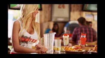 Hooters TV Spot For Draft Party - 99 commercial airings