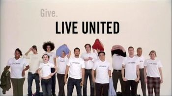 United Way TV Spot For Live United T-Shirts
