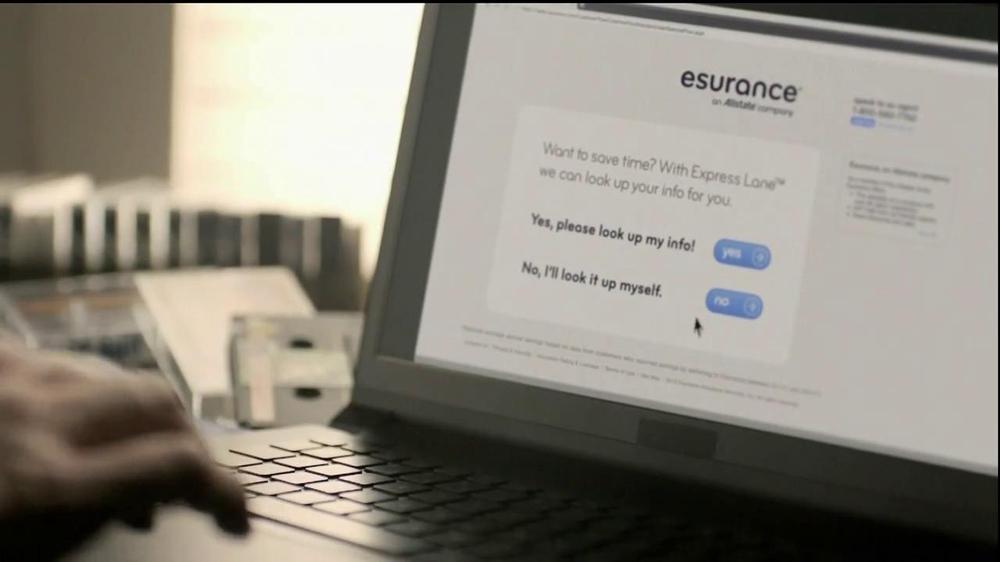 Esurance TV Commercial, 'Express Lane'