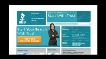 BBB.Org TV Spot for Find Reliable Companies