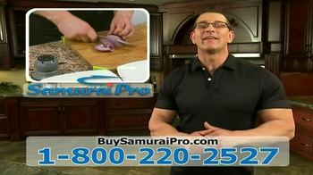 Samurai Pro TV Spot, 'Impossible Meals' Featuring Robert Irvine