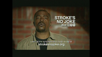 American Heart Association TV Spot, 'Stroke's No Joke'