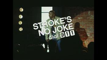 American Heart Association TV Spot, 'Stroke's No Joke' - Thumbnail 9