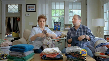 Tide TV Spot, 'Triplets Home from College'