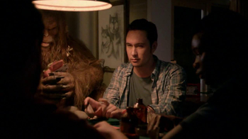 Jack Link's Beef Jerky TV Spot, 'Snackin' With Sasquatch: Poker' - Thumbnail 4