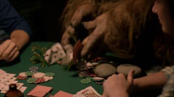 Jack Link's Beef Jerky TV Spot, 'Snackin' With Sasquatch: Poker' - Thumbnail 5