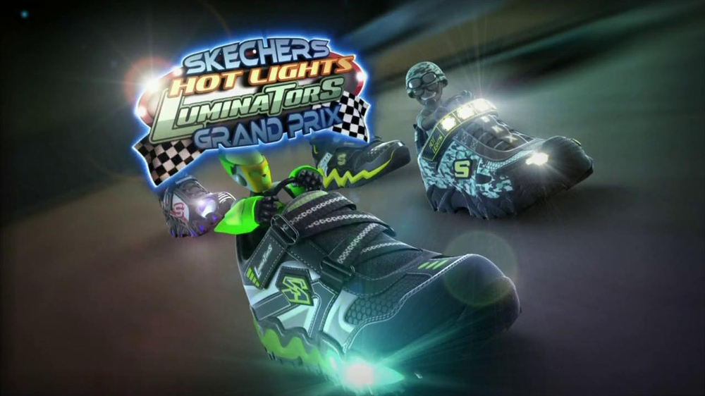 Skechers Super Hot Lights TV Commercial Video