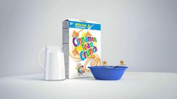 Cinnamon Toast Crunch TV Spot, 'Cinnamon Eating Cinnamon' - Thumbnail 1